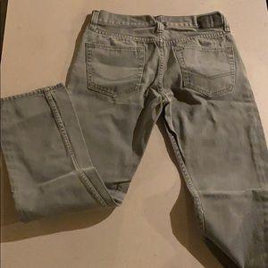 Men's grey bullhead jeans 31x32